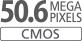 Capteur CMOS APS-C 50,6millions de pixels