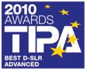 Tipa Awards 2010 - Best D-SLR Advanced: EOS 550D